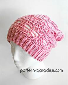 Letter Ribbed Beanie free crochet pattern dragonfly slouchy hat pattern paradise