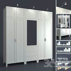 3d Models Wardrobe Display Cabinets Modular System Of