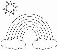 Malvorlagen Regenbogen Zum Ausdrucken Regenbogen Ausmalbild Gratis Tugas Anak Malvorlagen