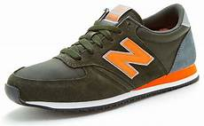 new balance 420 classic trainers in olive green