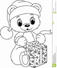 coloring page stock vector image of santa page