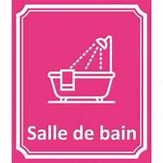 Plaque Salle De Bain Plaque Porte Quot Salle De Bain Quot En Aluminium Type C 244 T 233 Rue