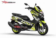 Modifikasi Nmax Terbaru by Modifikasi Motor Matic Terbaru Yamaha Nmax Striping Two