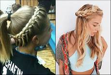 Pretty Braided Hairstyles For School