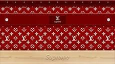 Supreme X Lv Background by Supreme Louis Vuitton By Zigshot82 On Deviantart