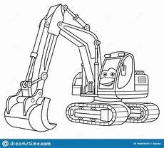 Ausmalbilder Kinder Bagger Excavator Coloring Page Coloringnori Coloring Pages