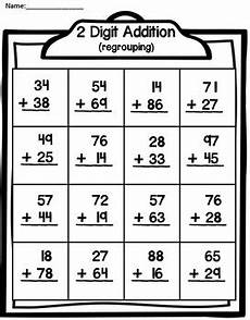 addition worksheets no regrouping 8971 2 digit addition by teaching second grade teachers pay teachers