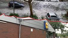 Unwetter Fegt 252 Bers Ruhrgebiet Lidl In Essen Ger 228 Umt