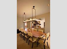 The beauty of dining tables and lamps