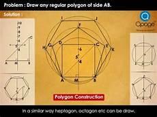 basic construction of regular polygon youtube