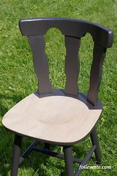 relooker une chaise relooker des chaises en bois