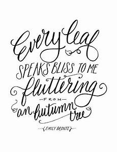 lettering lately gt lettering autumn leaves quote