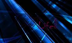 Abstract Black And Blue Wallpaper 4k