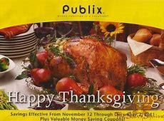Publix Yellow Advantage Buy Flyer: Happy Thanksgiving 11