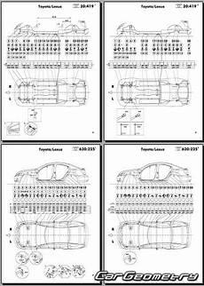 manual repair free 2010 lexus hs seat position control 2009 lexus is f collision repair underhood dimensions lexus is300c is250c 2009 2015 gse20
