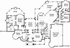 6500 square foot house plans 6 500 sq ft door to porch from master bath 2 staircases