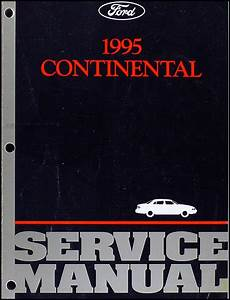 car repair manuals online pdf 1995 lincoln continental interior lighting 1995 lincoln continental repair shop manual original