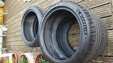 2 x as new michelin pilot sport 4 225 40 18 tyres in
