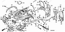 honda parts diagram honda atv 2009 oem parts diagram for front fender partzilla