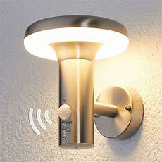 pepina motion sensor led outdoor wall light lights co uk