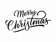 merry christmas inscription vector free download