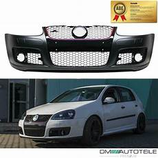 vw golf 5 v gti look front bumper mk5 gti grill with