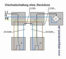 wechselschaltung mit steckdose 4 adrig wiring diagram
