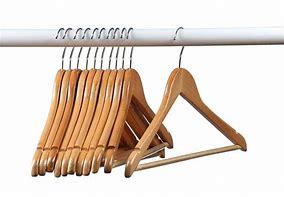 Image result for Wood Coat Hangers