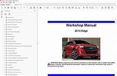 car engine manuals 2012 ford edge user handbook ford edge 2011 2014 factory repair manual