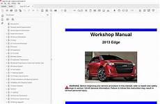free car repair manuals 2013 ford edge spare parts catalogs ford edge 2011 2014 factory repair manual
