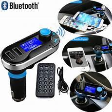 voiture fm transmitter wireless bluetooth