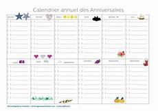 calendrier perpetuel anniversaire personnalisé calendrier annuel des anniversaires calendrier calendrier annuel calendrier et