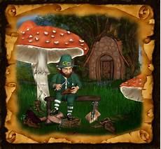 Ausmalbilder Elfen Und Kobolde Leprechaun Die Kobolde Der Irischen Mythologie