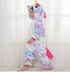 Unicorn Malvorlagen Terbaik Animal Costume Unicorn Baju Tidur Pajamas Piyama Anak