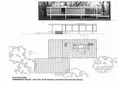farnsworth house plan σχετική εικόνα farnsworth house house floor plans