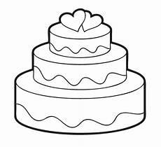 ausmalbilder gratis torte ausmalbilder