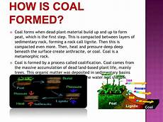 how was coal formed fossil fuel