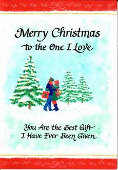 blue mountain arts merry christmas to the one i love special christmas card greet someone