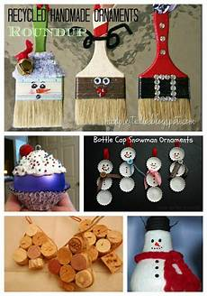 Handmade Home Decor Ideas From Recycled Materials by Roundup Of Handmade Ornaments From Recycled