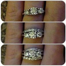 can you ruin the of your engagement ring with the wedding bands