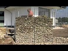 gabionen selber bauen gabionkaiser zeigt wie einfach es