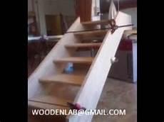 come costruire una in legno costruzione e posa scala in legno