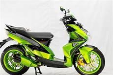 Warna Motor Keren by Gambar Foto Modifikasi Mio J Warna Hijau Yamaha Motor