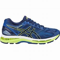 asics gel nimbus 19 mens running shoes indigo blue