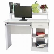 ktaxon office desk computer desk pc laptop desk modern writing table study workstation with