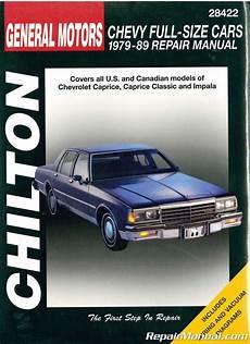 old cars and repair manuals free 2012 honda cr z head up display chilton chevrolet full size cars 1979 1989 repair manual