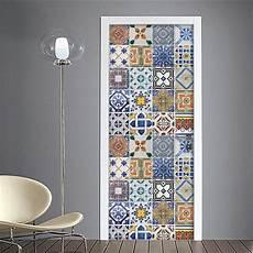 stickers per porte interne adesivo per porte mattonelle colorate asulejos porte