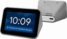 Lenovo Smart Clock With Assistant Gray Za4r0002us