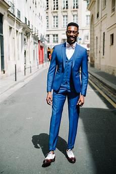 Costume Homme Mariage Bleu Costume Samson Test Avis