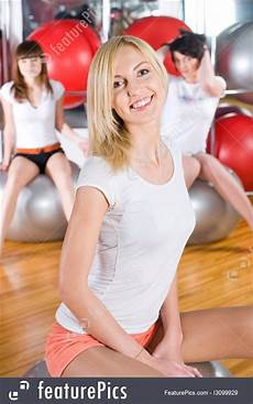 girls girls girls sports and recreation fitness stock picture